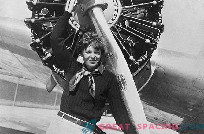 Skriti lunarni krater je poimenovan po Ameliji Earhart