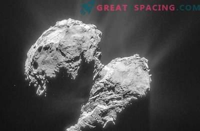 Rosetta ima težave zaradi ostrega
