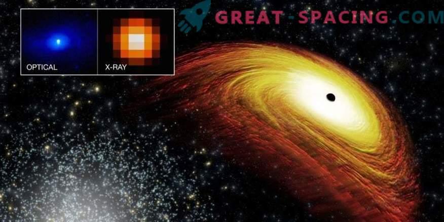 Die Suche nach einem wandelbaren supermassiven Schwarzen Loch