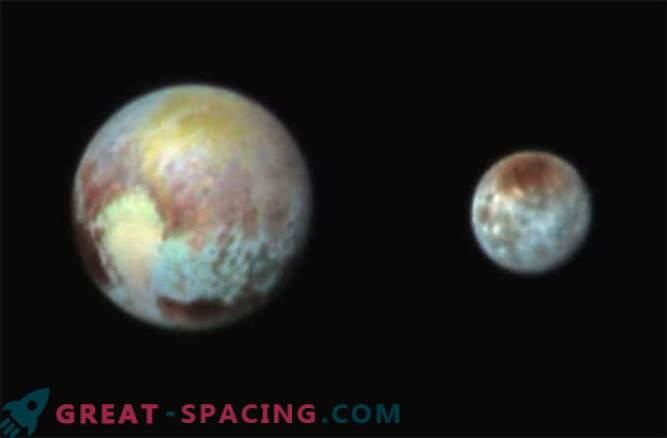 New Horizons je naredil barvno fotografijo Plutona in Charon