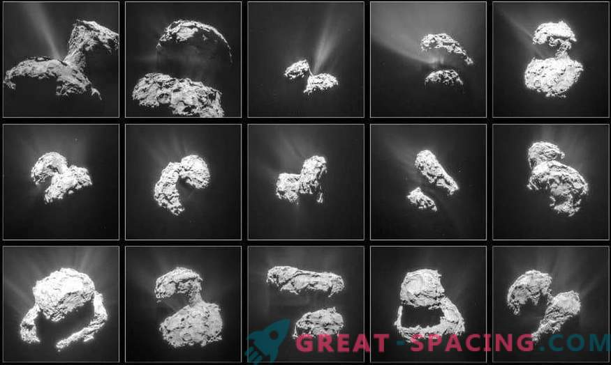 Molekularni kisik v atmosferi komet ne nastane na površini