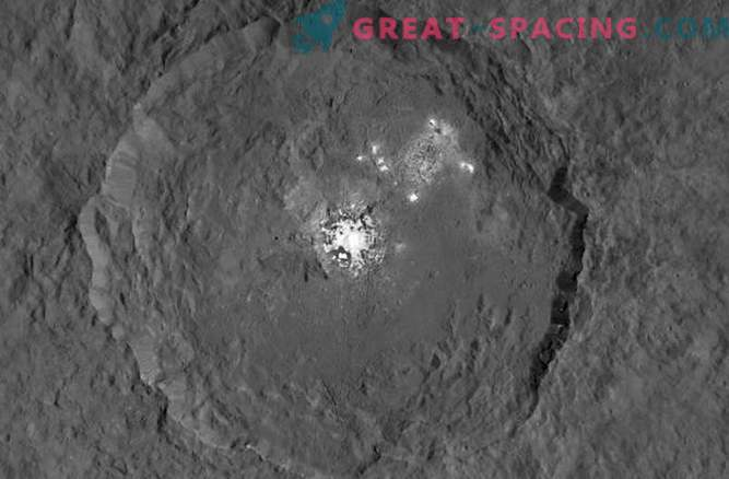 NASA probe investigates mysterious spots of Ceres