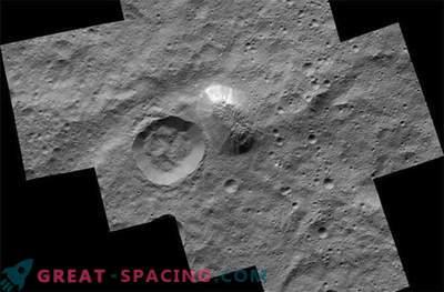 Mistična gora navdušuje na presenetljivi fotografiji Ceres