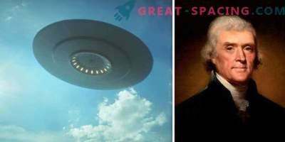 Prvi uradni zapis UFO! Čast pripada ameriškemu predsedniku?