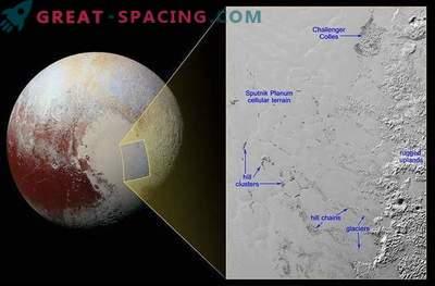 Čudoviti potoki hribovja Plutona