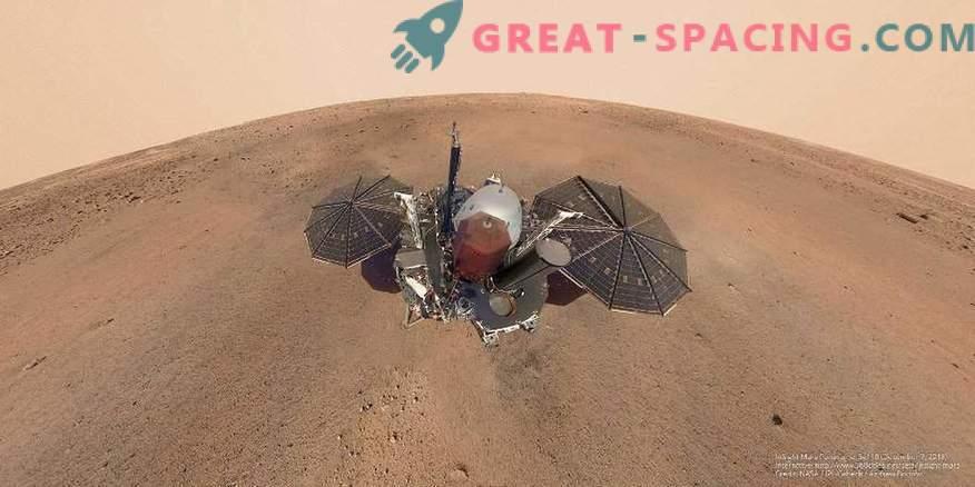 Misija InSight je naletela na nepričakovano oviro na Marsu.