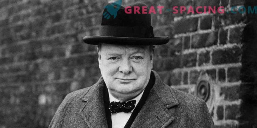 Lahko Churchill in Eisenhower skrivata podatke o neznanih predmetih