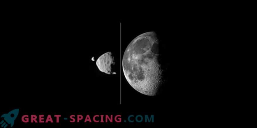 Marsove lune se lahko pojavijo zaradi stavke