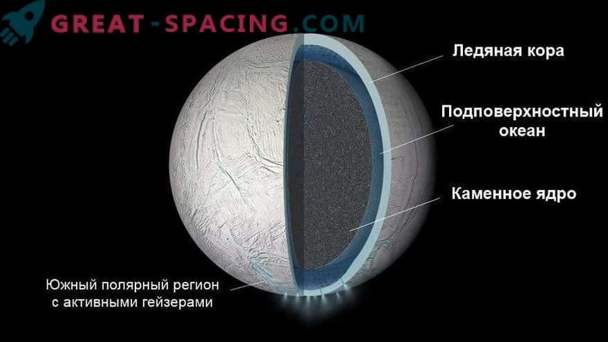 Saturnski satelit Enceladus ima ocean pod njegovo površino