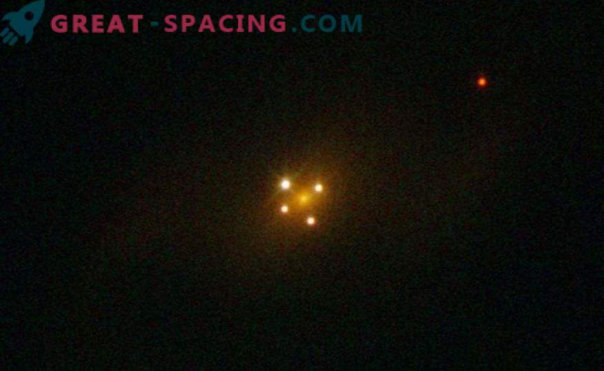 Found the second cross of Einstein. What is special about the gravitational lens