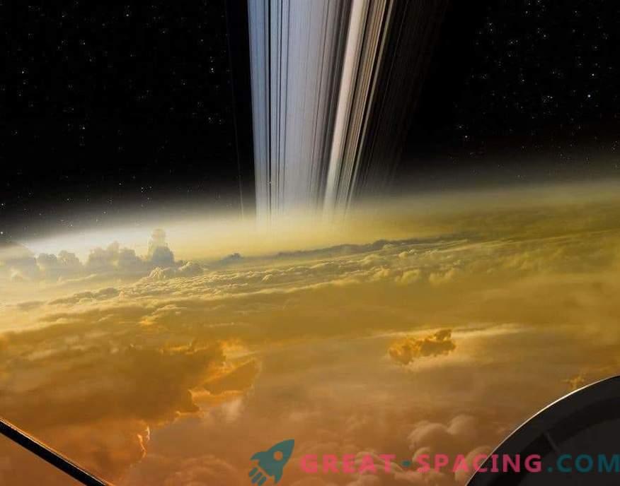 Zadnji strel Cassinija? No ... ni res