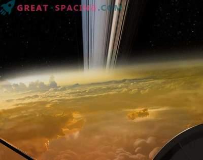 Última foto da Cassini? Bem ... não é realmente