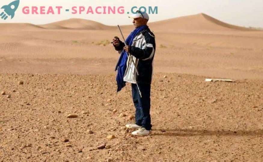 Maroška puščava, ki jo lovijo meteoriti