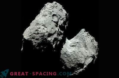Resnična barva kometa 67P / Churyumov-Gerasimenko