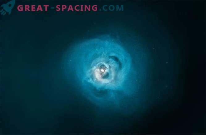 Posledični mistični signal lahko pride iz temne snovi