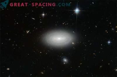 Astronomi so odkrili najbolj osamljeno galaksijo v vesolju.