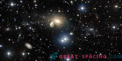Das Hubble-Teleskop hat versehentlich eine neue Galaxie gefunden