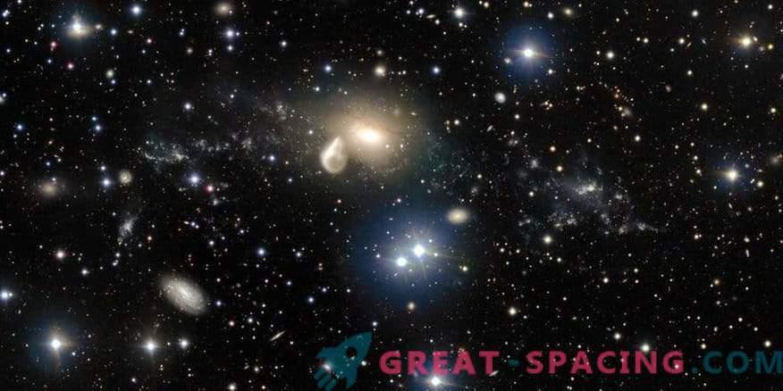 Teleskop Hubble je po naključju našel novo galaksijo