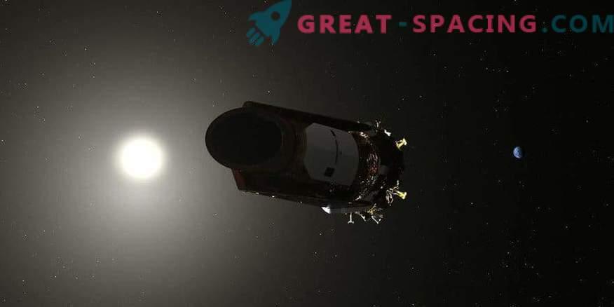 Kepler začasno ustavi znanstvena opazovanja za prenos podatkov