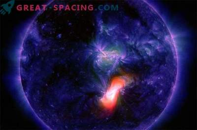 The sun sends flashes to Earth: New Year's storm?