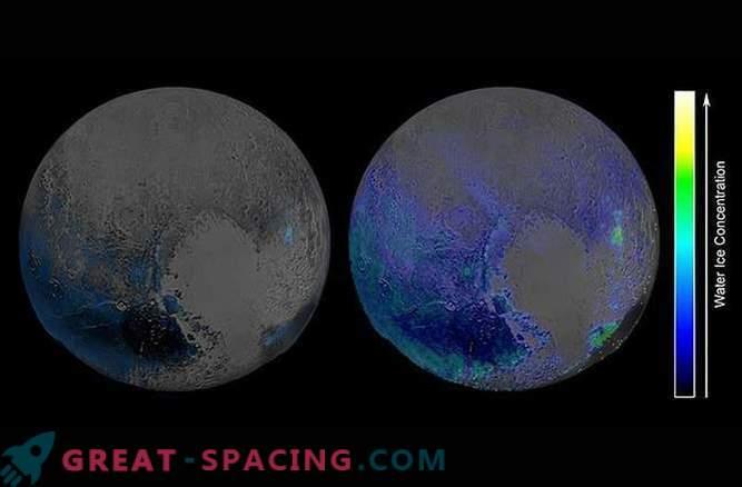 Količina vode, ki pokriva Pluton, preseneča raziskovalce.