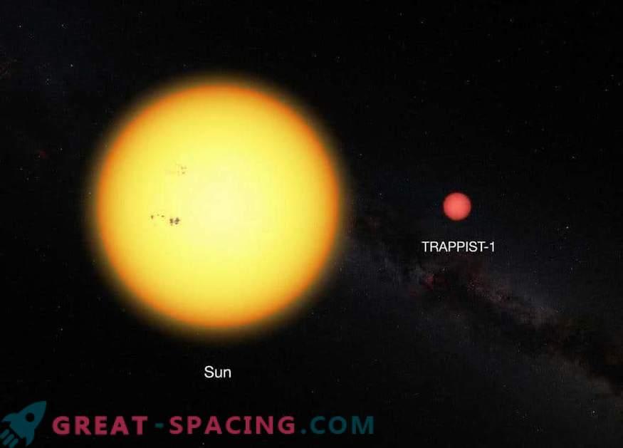 Planeti TRAPPIST-1 lahko vsebujejo vodo