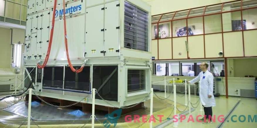 Preskus stresanja za 8-tonski hladilni sistem