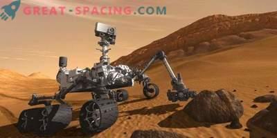 Epska jaz in marsovska panorama iz prašne radovednosti Rover