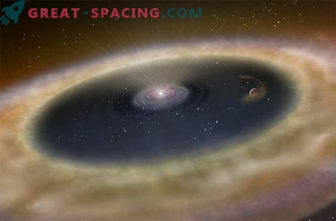Prvič, astronomi so lahko neposredno opazovali proces rojstva planeta