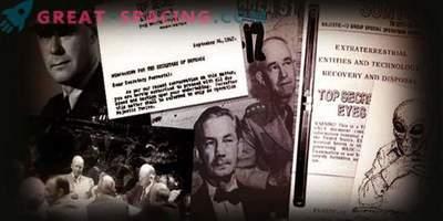 Ali lahko dokument iz leta 1952 potrdi obstoj skrivne skupine za preučevanje neidentificiranih objektov