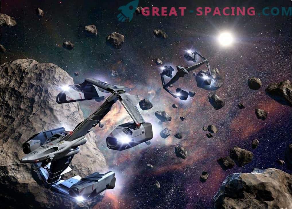 Pridobivanje asteroidov