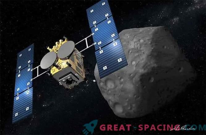 Japonska raziskovalna misija asteroidov se je uspešno začela