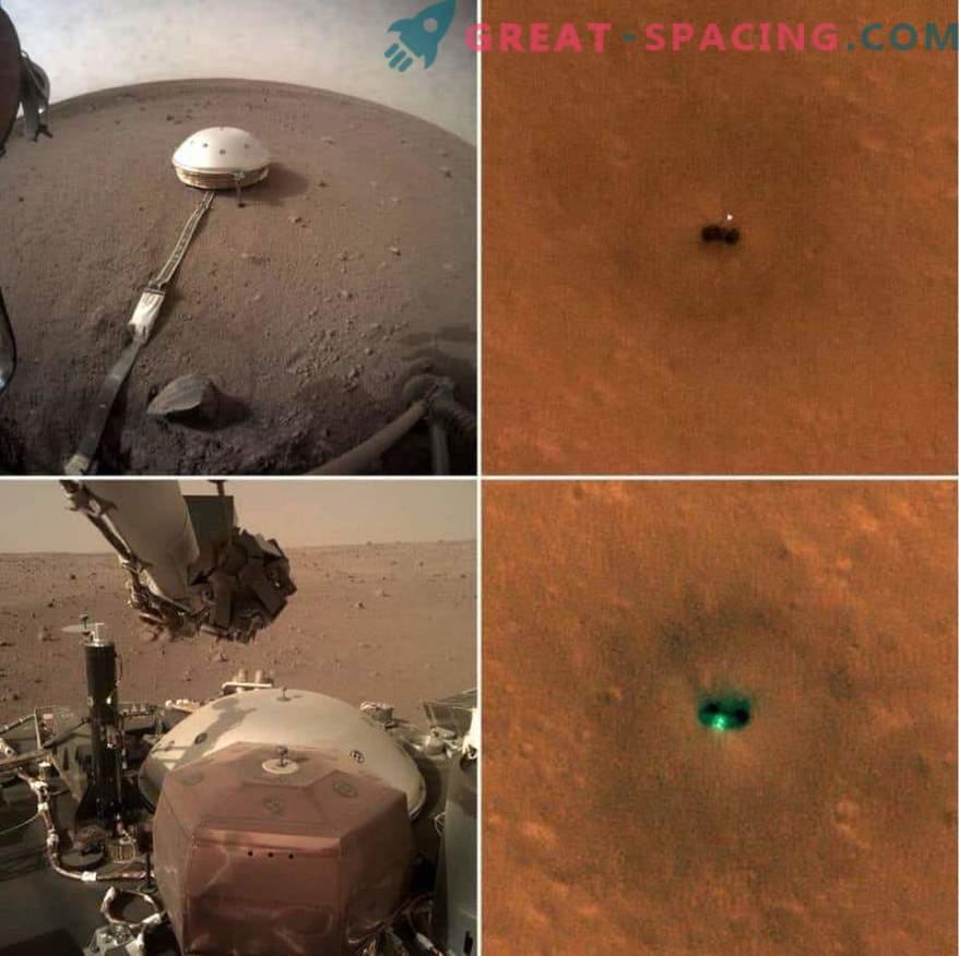 Nove fotografije naprave InSight Mars