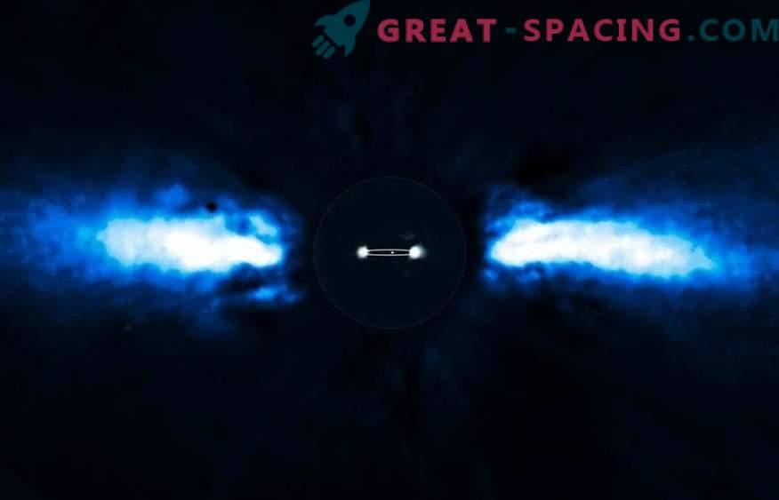 Exocomi se vrtijo okoli novorojenega zvezdnega sistema