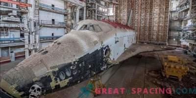 Brazgotine hladne vojne! Občudujte pozabljeni sovjetski shuttle