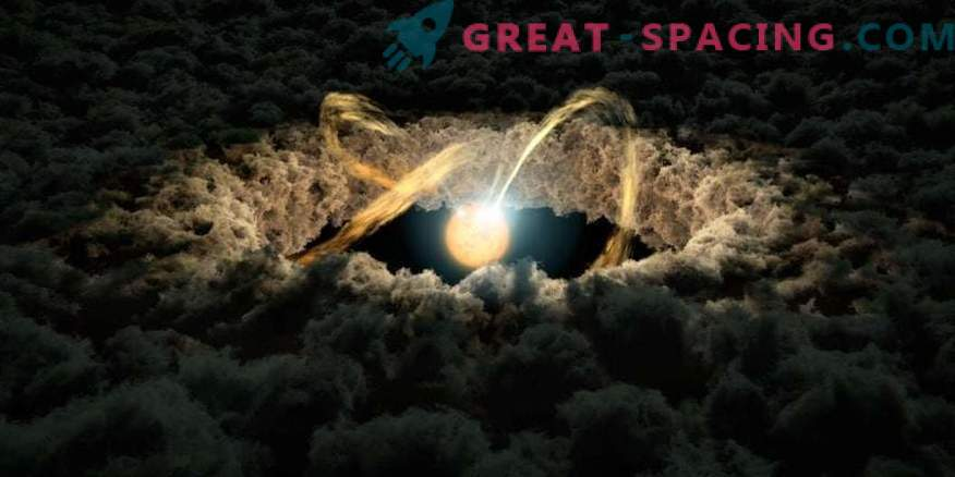 Neplodni protoplanatski diski: kje se material skriva za oblikovanje planetov?