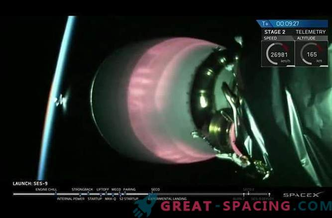 SpaceX je naredil peti poskus iztovora rakete Falcon-9.