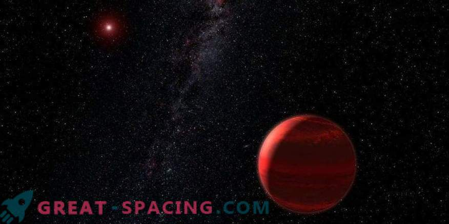 Rdeči škrat se skriva v prahu velike zvezde