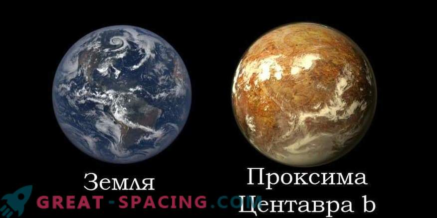 Exoplanet Proxima Centauri b se šteje za bivalno z verjetnostjo 87%