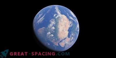 Kaj če bi bila zemeljska os nagnjena za 90 stopinj?