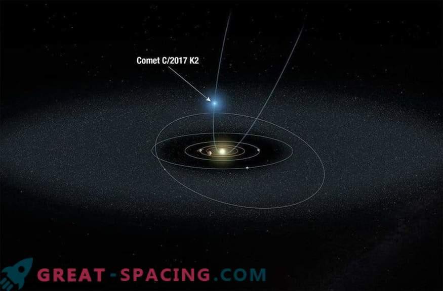 Znanstveniki spremljajo primitivni oddaljeni komet