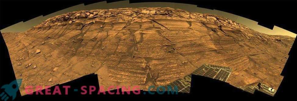 Neverjetni kraji na planoti Meridian, ki jih je odkril Opportunity Rover
