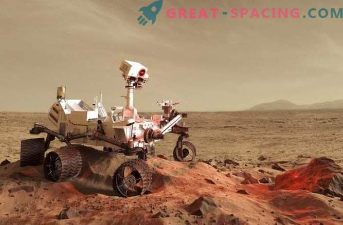 """A space laser helps robots """"sniff out"""" extraterrestrial life"""