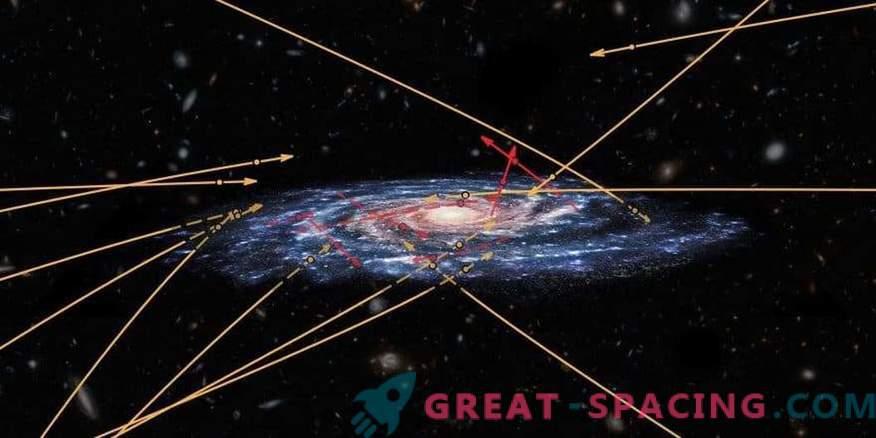 Več tujih zvezd se poskuša prebiti do Rimske ceste.