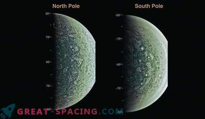 Juno ponuja prve informacije o Jupiterju