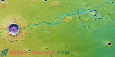 Masivni ledni rezervoar na Marsu bi lahko ohranil žive prebivalce