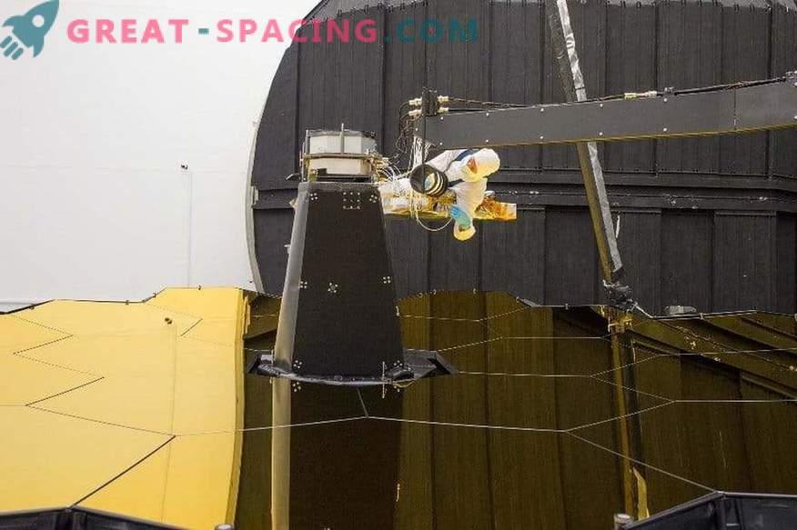 Samoportret vesoljskega teleskopa Jamesa Webba