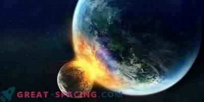 Kaj se zgodi, če luna zadane Zemljo