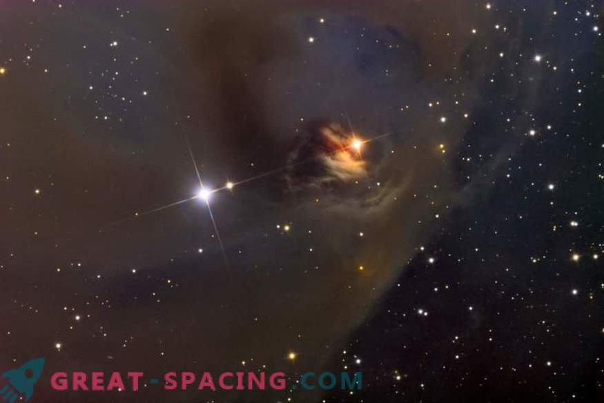 Struktura magnetnega polja novorojenih zvezd je bolj kaotična, kot smo pričakovali