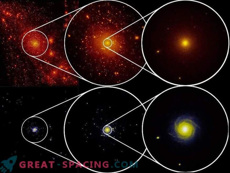 Galaktični test za temno snov